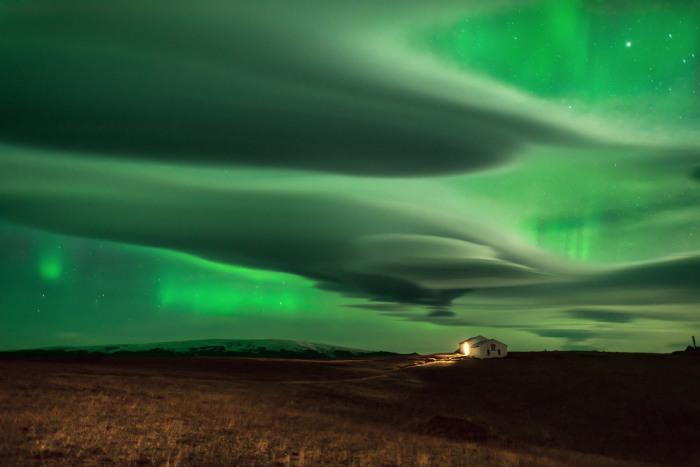 Северное сияние. Фотограф Daniele Boffelli.