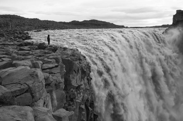 Самый мощный водопад в Европе. Фотограф Hugo Gonzalez.