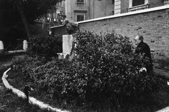 Место съемки: площадь Трилусса, город Рим (Италия).