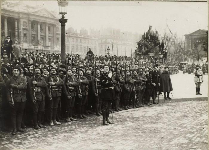 Французские войска.