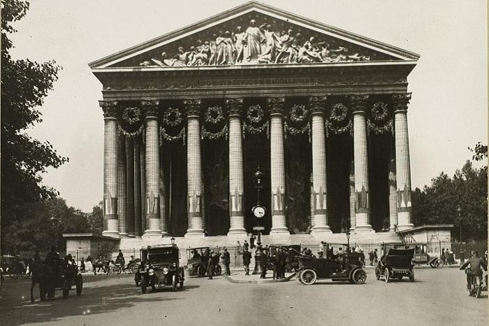 Париж в период Первой мировой войны и после её окончания.