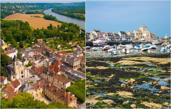 Самые красивые и живописные деревни Франции.