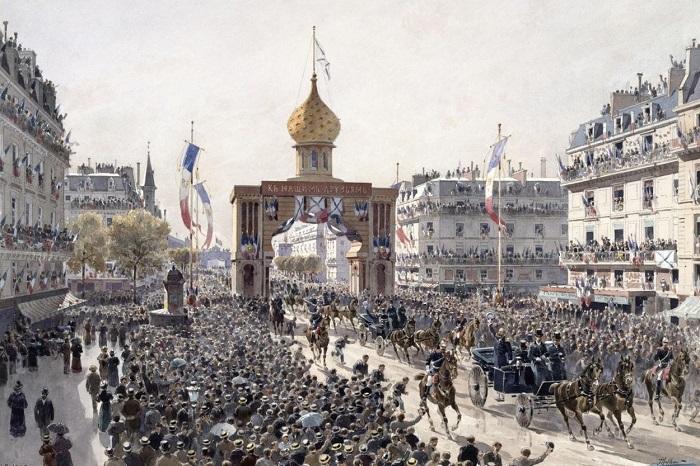 Визит русской эскадры во Францию.