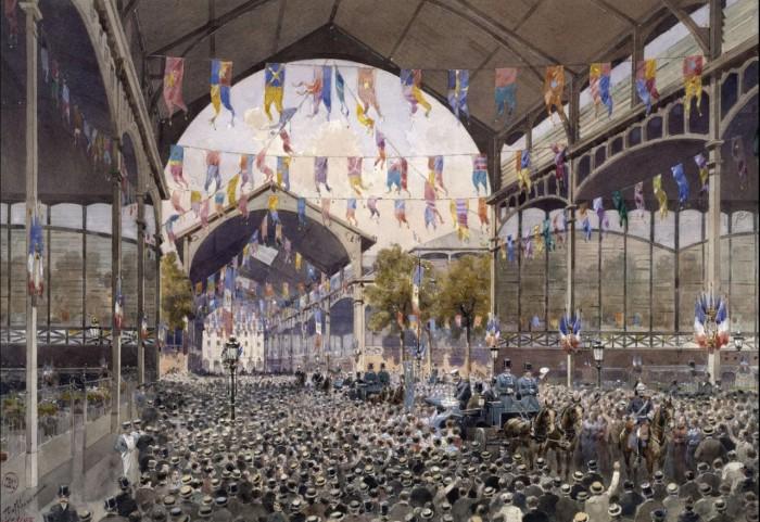 Приём в центре французской столицы. 19 октября 1893 года.