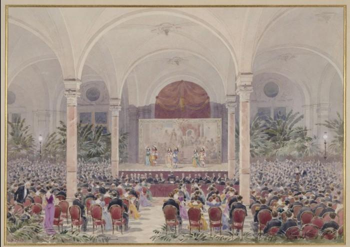 Представление в зале мэрии 4-го округа. 20 октября 1893 года.