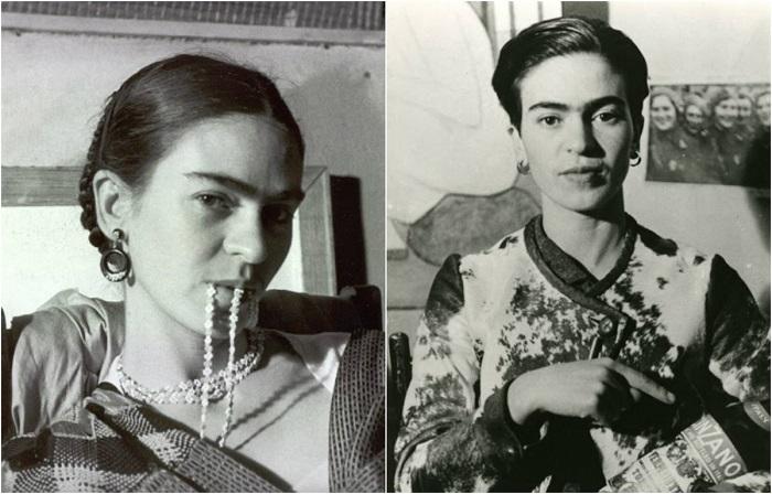 Фрида Кало глазами фотохудожницы Люсьенны Блох.