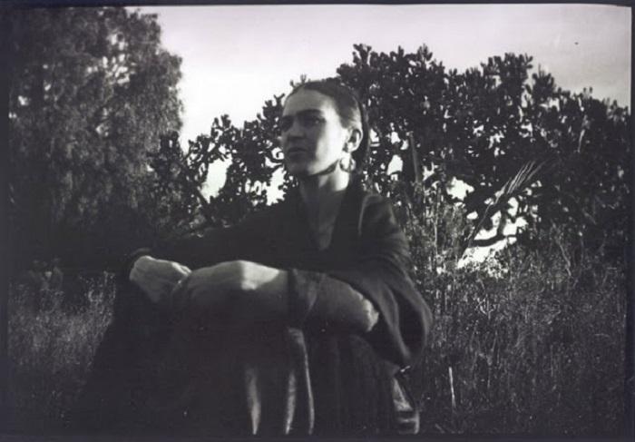 Для съемки этой фотографии Люсьенна пользовалась не своей привычной «Лейкой», а новой камерой.