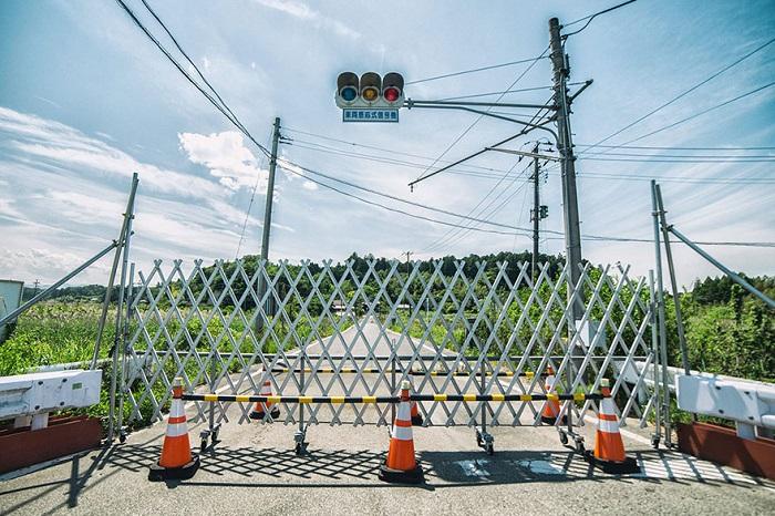 Зона отчуждения в префектуре Фукусима, Япония.