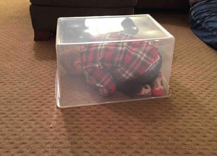 Мне одинаково, что посудина прозрачная-я же спрятался!