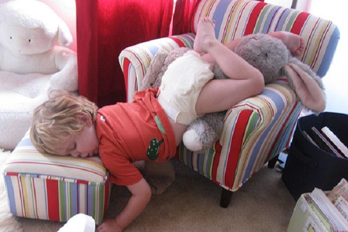 Сладкие сны маленьких детей.