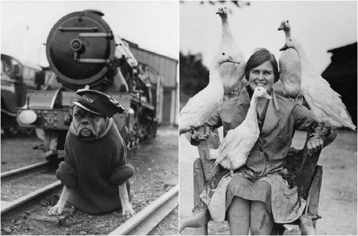 Смешные ретро-фотографии из прошлого.