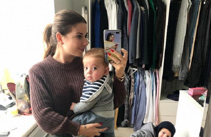Дочь известного дизайнера Валентина Юдашкина родила второго сынишку Аркадия 28 марта. /Фото: danielboutiqueblog.com