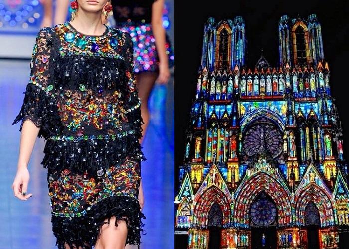 Высокая мода и искусство.