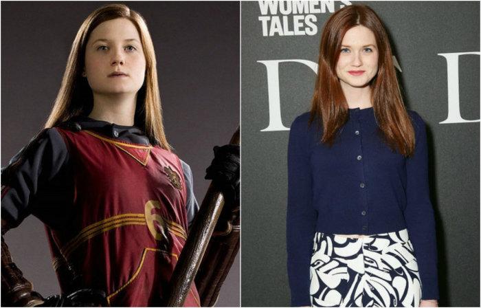 Младшая сестра Рона Уизли Джинни, будущая жена Гарри Поттера.