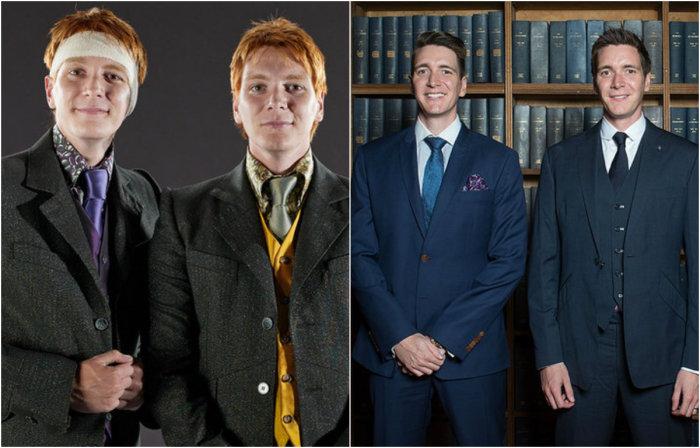 Старшие братья-близнецы Рона Уизли Фред и Джордж.