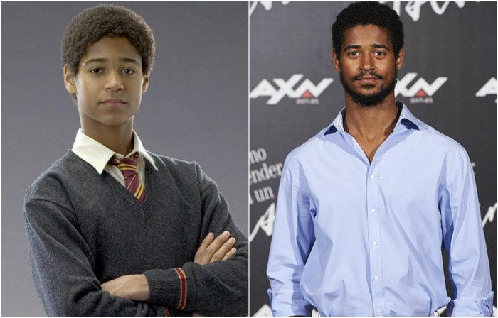 Дин Томас, студент факультета Гриффиндор и один из соседей Гарри Поттера по спальне.