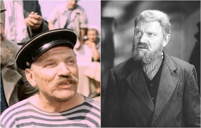 Роль старика на барже была эпизодической, как и большинство амплуа сыгранных актером в кино.
