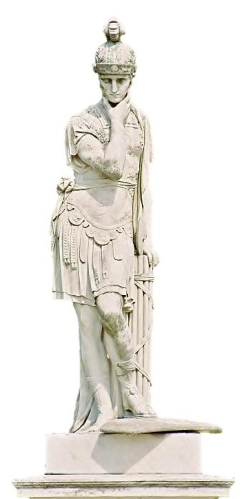 Римский полководец, в историю он вошёл как великий полководец, победитель Ганнибала.