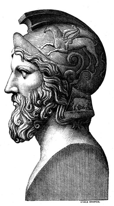 Афинский полководец прославился, в первую очередь, победой в легендарной битве с персами при Марафоне.