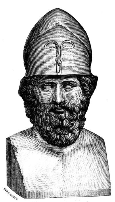 Величайший афинский флотоводец, сыграл ключевую роль в победах греков над персами и сохранении Грецией независимости.