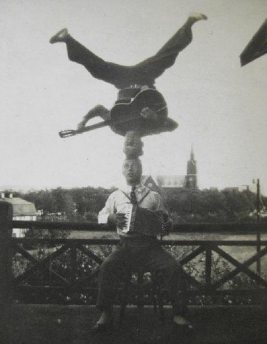 Артисты циркового жанра, 1926 год.