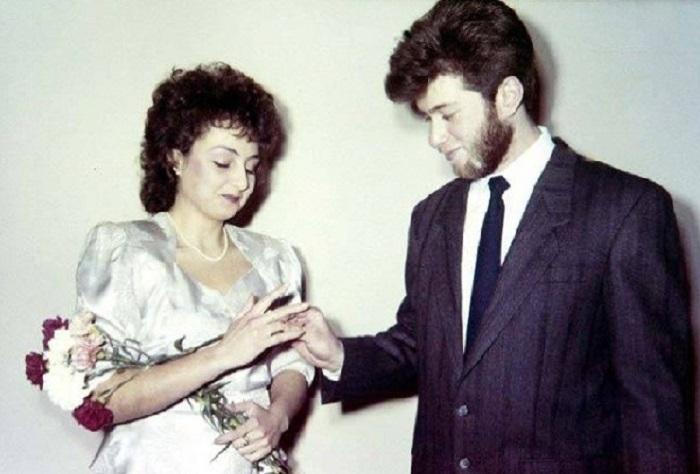 Церемония бракосочетания Романа Абрамовича, конец 1980-х.