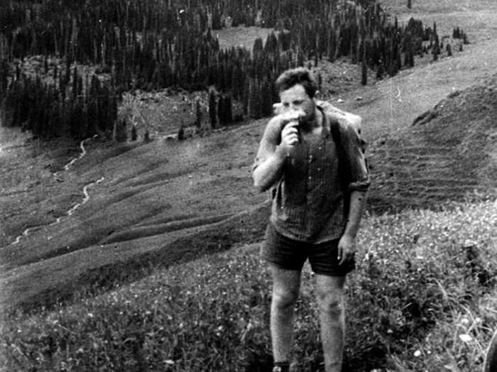 Бродский в геологической экспедиции, 1960 год.