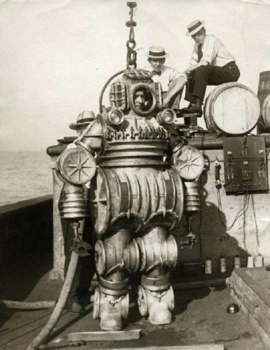Водолазный костюм конструкции капитана Enos B. Petrie, США, 1900–е.