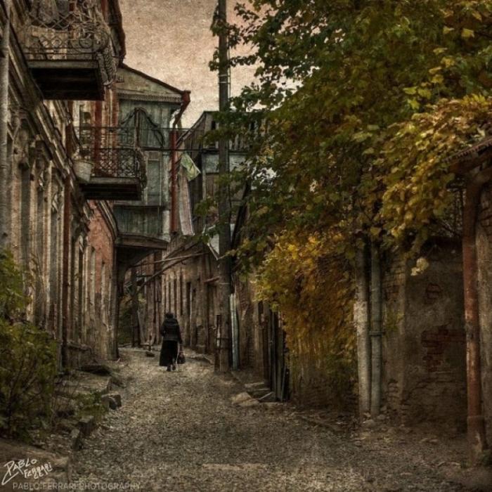 Прогулка по улицам Старой Грузии.