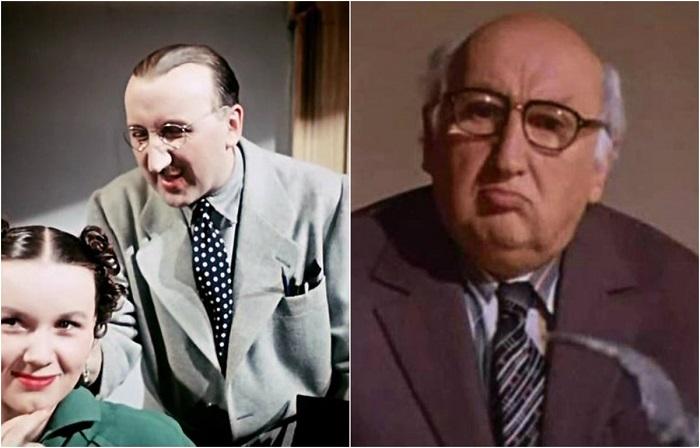Знаменитый актер играл как главных, так и второстепенных персонажей, например, роль референта Нестратова.