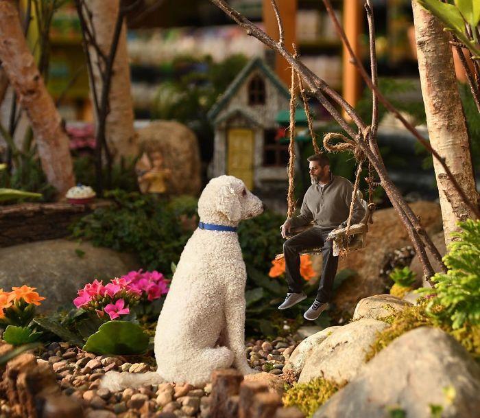 «Мы с Джужди просто не могли пройти мимо такого маленького сказочного сада…»