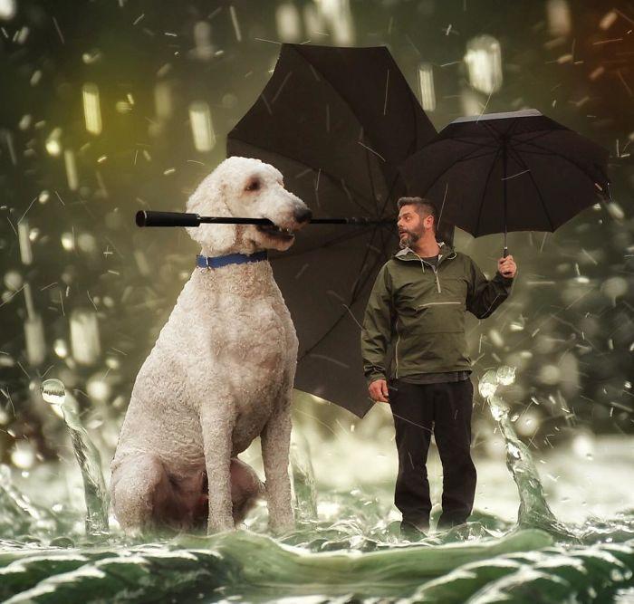 «Я думаю, что даже будь у Джуджи пальцы как у меня - он все равно держал бы зонтик по-своему…»