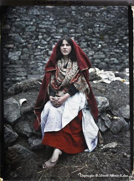 Традиционный женский наряд.