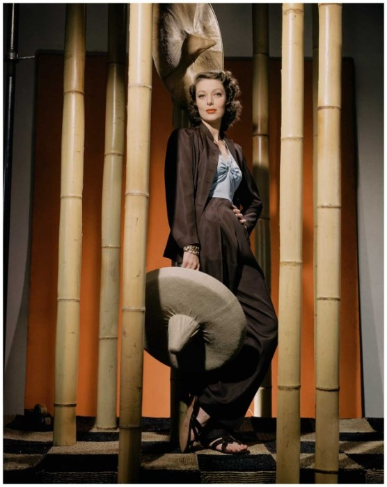 Американская актриса Лоретта Янг (Loretta Young) – олицетворение изящества и элегантности.