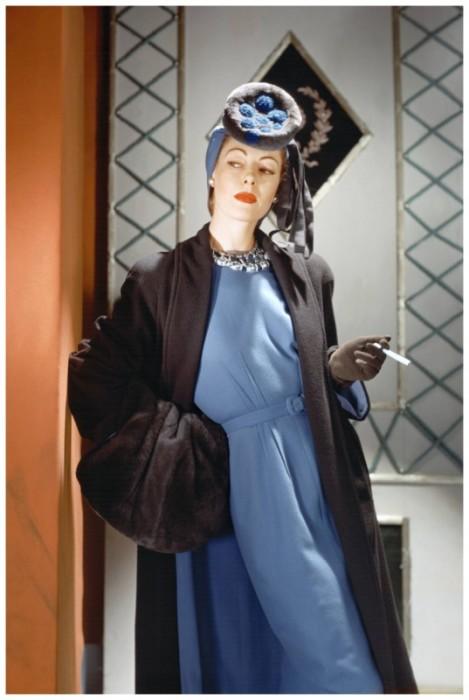 Модель Лиза Фонсагривс (Lisa Fonssagrives) по популярности сравнилась с самыми известными актрисами Голливуда.