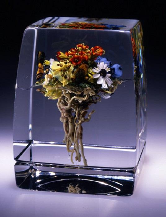 Серия прес-папье называется «Ботанической серией».