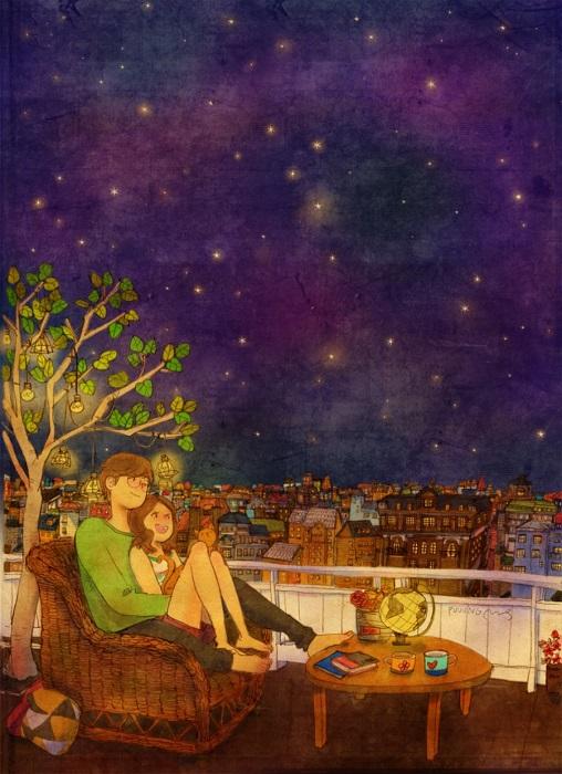 Любовь приходит незаметно и проявляется в мелочах, которые со временем становится невозможно не замечать.