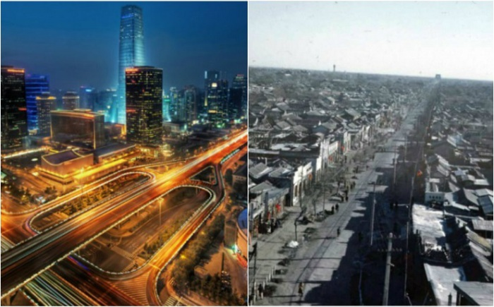 Города и столицы, изменившиеся до неузнаваемости.
