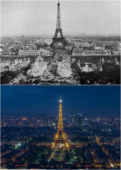 1900 год и настоящее время.