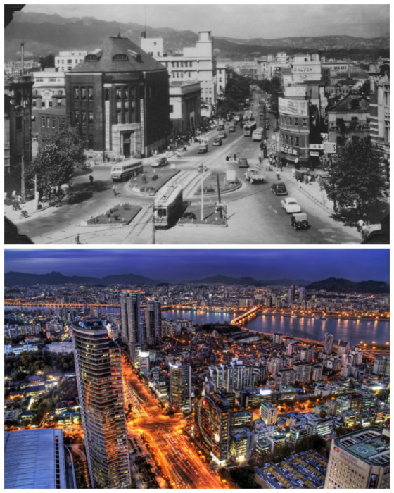 1950 год и наши дни.