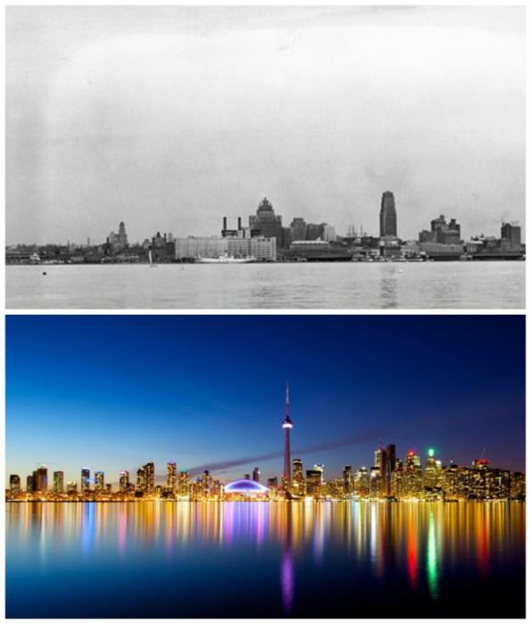 1930-е годы и сейчас.