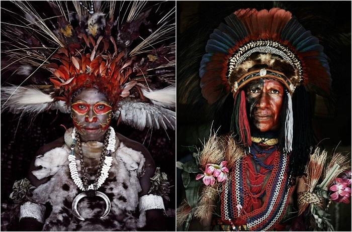 Племена, проживающие на территории Индонезии и Папуа.