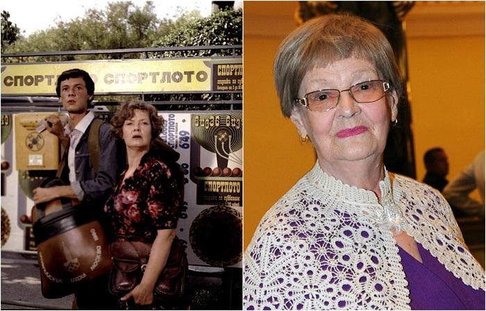 Небольшую роль тети главного героя – Клавдии Антоновны – сыграла жена Леонида Гайдая Нина Гребешкова.