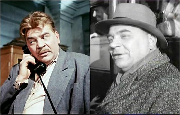 Знаменитый советский актер сыграл в комедийном фильме роль начальника строительства - Виталия Григорьевича Неходы.