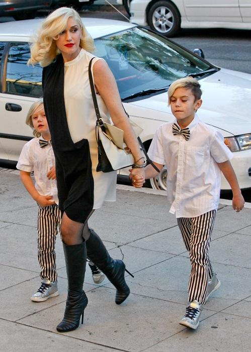 Гвен уже воспитывает 3 сыновей, а сейчас, в 47-лет артистка находится 4-й раз в интересном положении. Фото: lichnosti.net