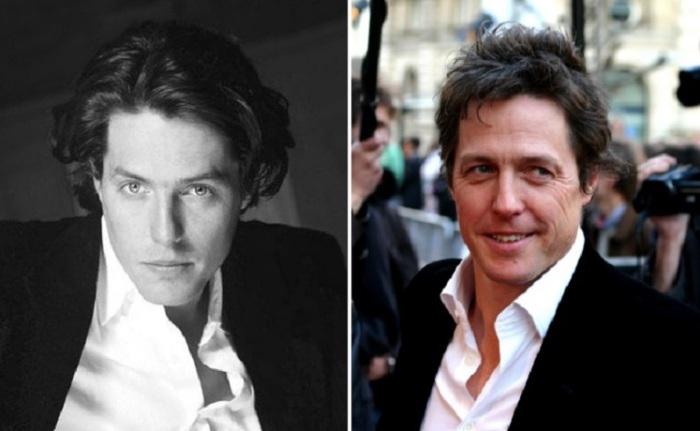 Британский актёр почти не меняется и все также любит классические рубашки и смокинг.
