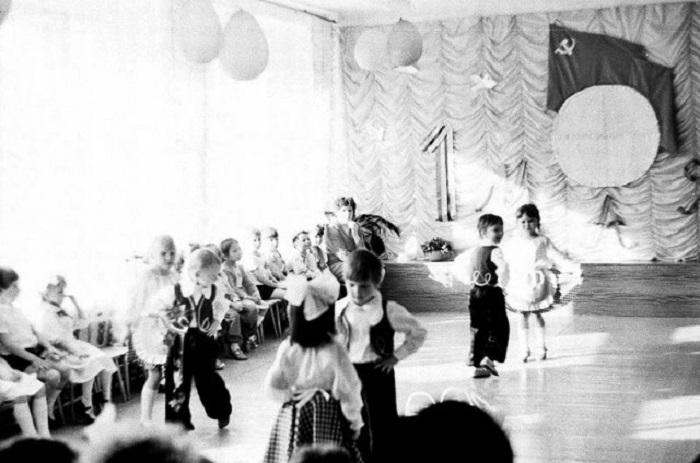 Детское выступление.