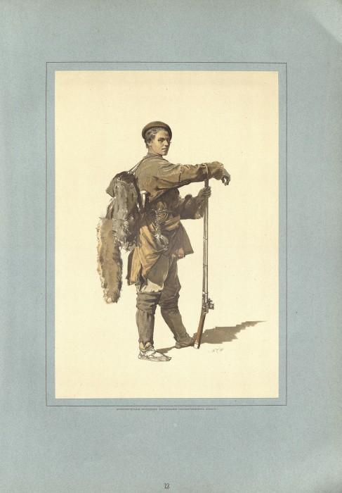 Военные дружины горской молодежи.