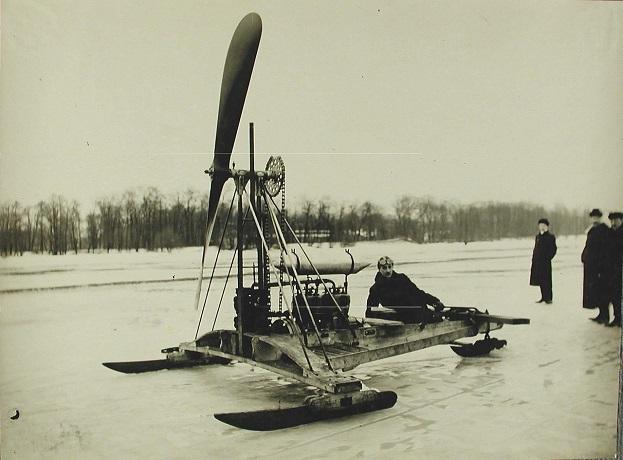 Аэробуер В.Т. Лебедева, Санкт-Петербург, 1900-е годы.