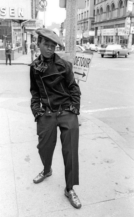 Модный мальчишка, Бостон, США, 1968 год.